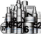 Redken: Designed by Bergman Associates which specialize in building, redesigning and modernizing brands that are innovative, bold and successful with ultimate sophistication and international style. Redken Hair Products, International Style, Cosmetic Packaging, Spa, Packaging Design Inspiration, Great Hair, No One Loves Me, Cut And Color, Coke