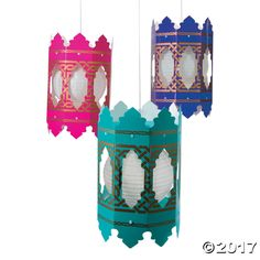 In hot pink, purple and turquoise, these lantern holders are gorgeous additions to any formal celebration. From proms to weddings, they add a glorious touch ...