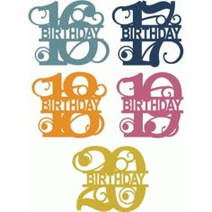 Welcome to the Silhouette Design Store, your source for craft machine cut files, fonts, SVGs, and other digital content for use with the Silhouette CAMEO® and other electronic cutting machines. Silhouette Cameo Projects, Silhouette Design, Silhouettes, Silhouette Portrait, Birthday Numbers, Brother Scan And Cut, Silhouette Machine, Cricut Vinyl, Vinyl Projects