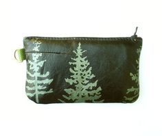 Douglas Fir Tree Phone Case in Glossy Black by bonspielcreation, $29.00