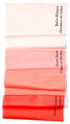 paint chip table runners love