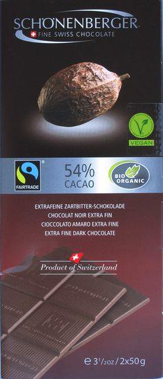 Schönenberger 54% Cacao