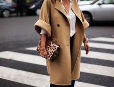 Oversize coat.