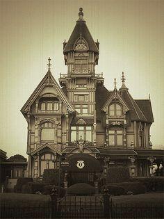Carson Mansion, Eureka, California    #house #victorian
