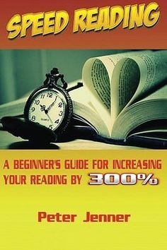 Speed Reading: A Beginner's Guide for Increasing by Peter Jenner [Paperback] NEW - http://books.goshoppins.com/education-reference/speed-reading-a-beginners-guide-for-increasing-by-peter-jenner-paperback-new/