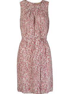 Cori Vestido Estampado Em Seda - Cori - Farfetch.com