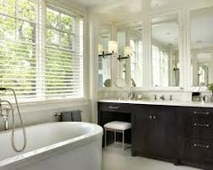 small bathroom vanities with makeup area - Google Search