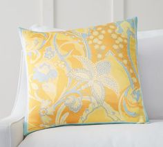 Floral Scarf Print Pillow Cover