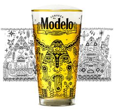 Limited Edition Beer Glasses on Behance