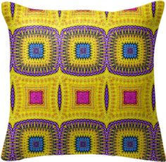 Pillow with ethnic touch from Print All Over Me