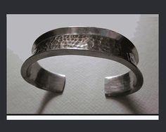 Battered But Cool,Jorgen Jensen Brutalist Handmade Bracelet, Denmark,Vintage Jewelry,Men