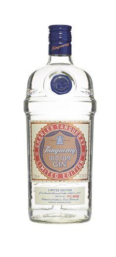 Tanqueray Old Tom Gin - Süß dank Ananas und perfekt in Vintage-Longdrinks und -Cocktails! Gin Bottles, Vodka Bottle, Tequila, Gin Foundry, Gin Und Tonic, Gins Of The World, Gin Brands, Best Gin, Gin Recipes