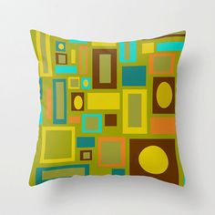 A fun modern throw pillow can change an entire room. Style your room with this modern pillow. Our modern pillows on a sofa, a chair, or bed will