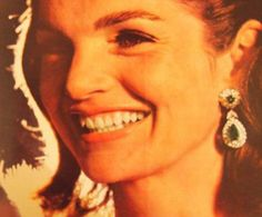Monday Jewelry Muse: Jackie Kennedy Mrs Kennedy, Jaqueline Kennedy, Jacqueline Kennedy Jewelry, American First Ladies, Jfk, Style Icons, Famous People, Muse, In This Moment