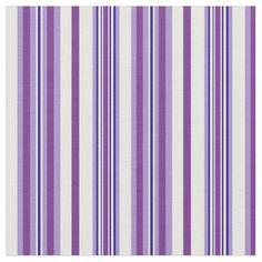 Shop Chic Mauve Purple, Dark Blue White Striped Fabric created by poshandpainterly. Deep Purple, Dark Blue, Blue And White, Pop Collection, Paint Ideas, Midnight Blue, Blue Stripes, Mauve, Tart