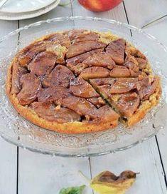Obrácený jablečný koláč — Břicháč Tom - jak jsem zhubl 27 kg Food And Drink, Low Carb, Pie, Sweets, Healthy Recipes, Meat, Desserts, Fitness, Cholesterol