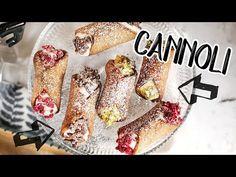 Ropogós édesség Szicíliából: cannoli - YouTube Cannoli, Trifle, French Toast, Bakery, Deserts, Make It Yourself, Breakfast, Ethnic Recipes, Food