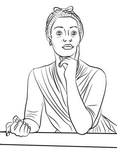 phillis wheatley coloring page from famous people category select from 28391 printable crafts of cartoons