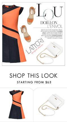 """""""LATTORI dress"""" by water-polo ❤ liked on Polyvore featuring Lattori, See by Chloé, polyvoreeditorial and lattori"""