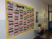 tons of middle school bulletin board ideas