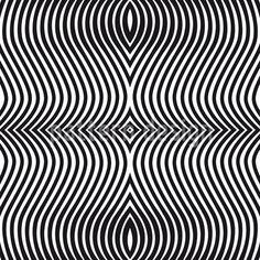 Op-Art-Zebra Designmuster Designmuster by Matthias Hennig at patterndesigns.com