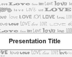 23 best love powerpoint templates images on pinterest ppt template love template for powerpoint is a free st valentines day powerpoint template that you can toneelgroepblik Images