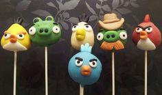 Angry birds cake pop birthday party fun theme by Cakepopstop Lego Movie Cake, Lego Movie Party, Lego Cake, Party Fun, Party Ideas, Bird Birthday Parties, 8th Birthday, Birthday Ideas, Bird Cakes