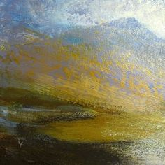 318 'Early evening, below Canisp', Acrylic
