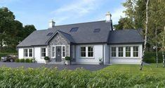 Property For Sale in Waringstown - Sunflower Cottage, Adjacent To 9 Clare Moss Road, Waringstown - Dormer House, Dormer Bungalow, Small Bungalow, Bungalow House Design, Bungalow Ideas, Bungalow Exterior, Cottage Exterior, Exterior House Colors, Square House Plans