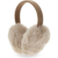 Karl Donoghue Cashmere lambskin earmuffs (419.100 COP) ❤ liked on Polyvore featuring accessories, cashmere earmuffs and karl donoghue