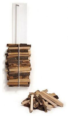 hanging log pile