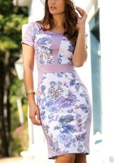 4db338430 Vestido Evangelico Social, Roupas Discretas, Moda Evangelica Vestidos,  Roupas Femeninas, Roupas Simples