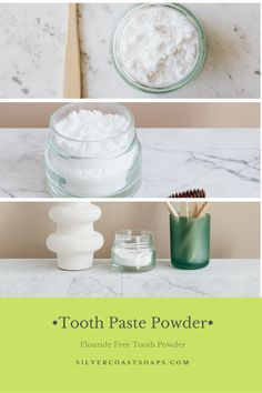 Easy travel size tooth paste powder for a #zerowaste bathroom #WhatIsBakingSodaUsedForInCleaning What Causes Tooth Decay, Tooth Paste, Tooth Powder, How To Prevent Cavities, Receding Gums, Honey And Cinnamon, Teeth Cleaning, Oral Health, Dental Care
