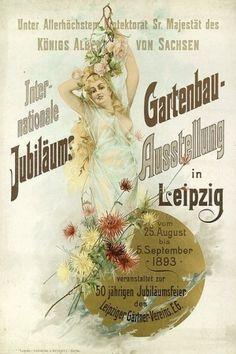 Jubilee International Horticultural Exhibition in Leipzig (1893) by lorena