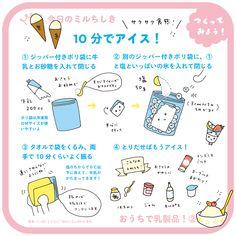 10分でアイス | 今日のミルちしき | MILK JAPAN(ミルクジャパン)
