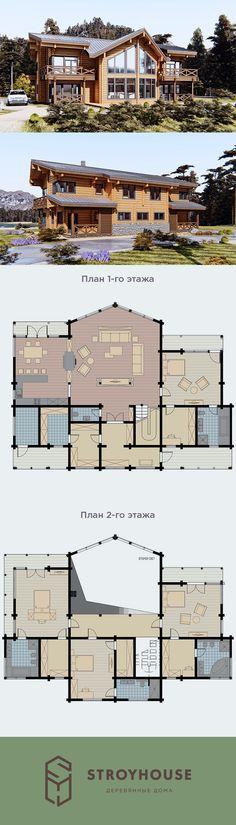Проект дома из клееного бруса - Сергач.