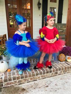 Parrot costume macaw costume parrot tutu halloween costume