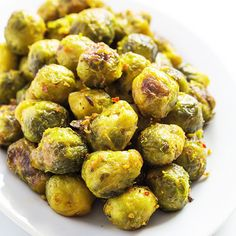 The Best Garlic Roasted Brussels Sprouts | Paleo Grubs