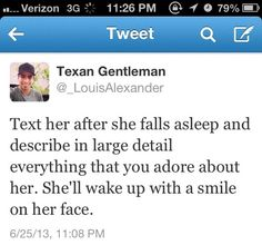 awww! I wish...If a guy did this to me, I would probably love him forever!(: