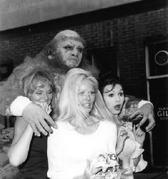 Publicity shot for Frankenstein and the Monster From Hell (1974)