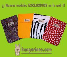 ¡¡Nuevos modelos de bolsas porta pañales EXCLUSIVOS en la web!! http://kangurines.com/
