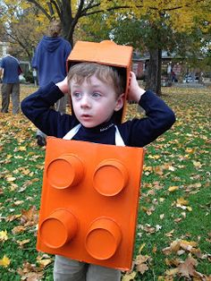 Mommy's Middle Ground: How to Make a Lego Costume