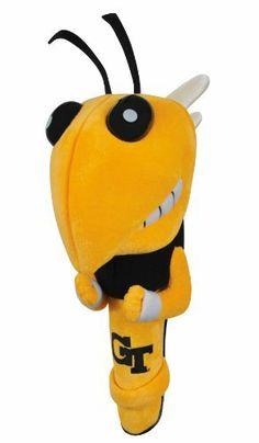NCAA Georgia Tech Yellowjackets Mascot Headcover by Team Effort. $34.99. Embroidered with collegiate trademark. Designed to fit most 4600cc drivers. A unique characterization of your favorite college team?s mascot. Shaft Gripper Mascot Headcover