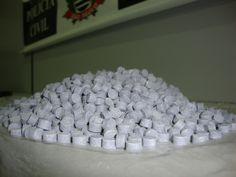 Polícia Civil apreende 2.816 comprimidos de ecstasy