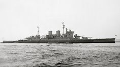 HMS Renown (1916), was the lead ship of her class of battlecruisers of the Royal Navy built during the First World War. During WWII, Renown was involved in the search for the Admiral Graf Spee in 1939, participated in the Norwegian Campaign of April–June 1940 and the search for the German battleship Bismarck in 1941. She spent much of 1940 and 1941 assigned to Force H at Gibraltar, escorting convoys and she participated in the inconclusive Battle of Cape Spartivento.