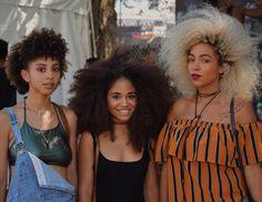See this Instagram photo by @odipics • Beautiful Afro Gang @anastasialovera , @iamnonasimone @kassalaholdsclaw at  Afro punk 2016