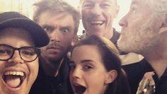 La Bella e la Bestia: prima foto di Emma Watson con il cast del live-action Disney