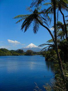 Mt.Taranaki, New Zealand, North Island