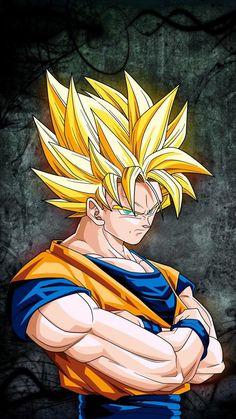 goku wallpaper by dathys - ca - Free on ZEDGE™ Dbz, Majin, Goku Wallpaper, Saga Dragon Ball, Golden Warriors, Anime Stars, Goku Super, Son Goku, Art Sketches