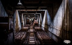 The abandoned coal delivery system for a former power station's boilers. Thanks for taking the time to check out my image!  If you really enjoyed this image, be sure to click on over to my Urbex & Street Art Collection and check out more of my Urbex & Street Art photos. Even better,...